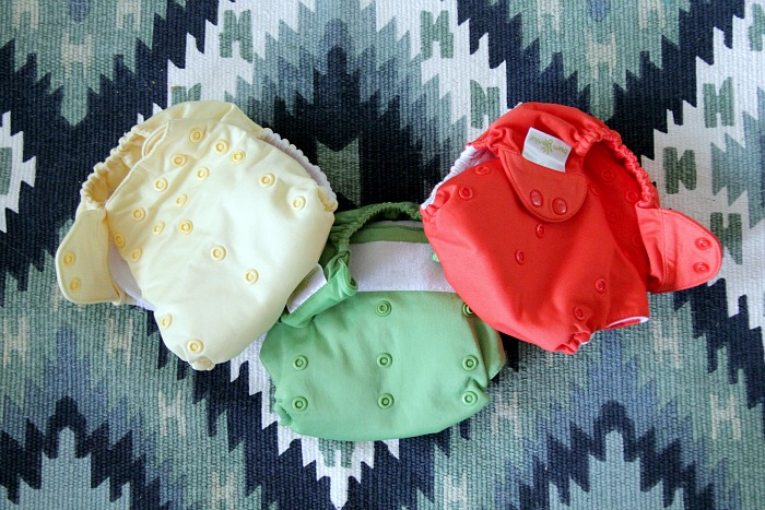 Cloth diaper trio bumGenius freetimes