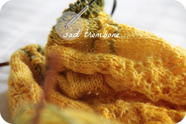 broken knitting needle