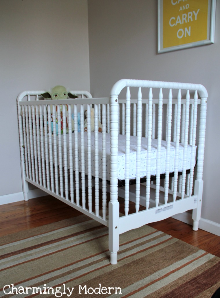 davinci jenny lind crib white naturepedic mattress