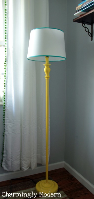 diy lamp after