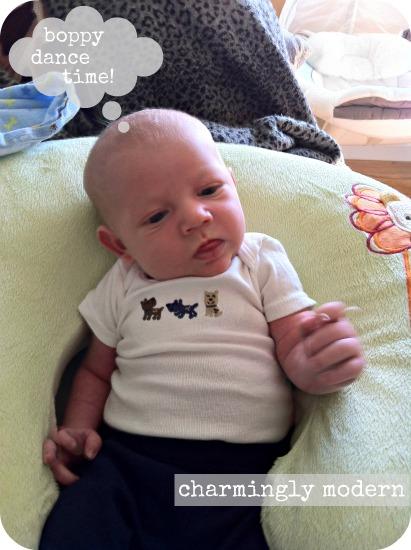 baby in boppy
