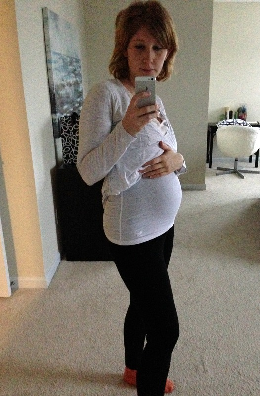 20 week bump second pregnancy