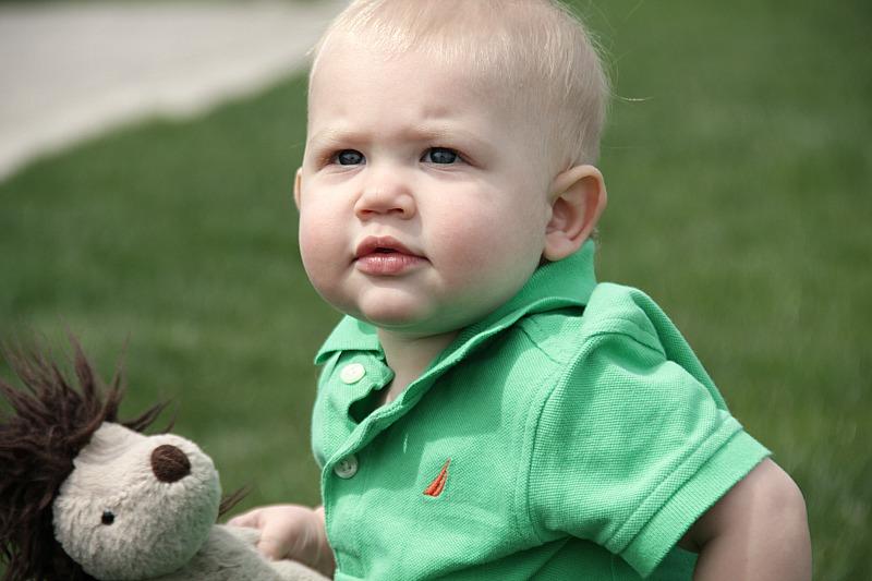 Ezra at the park