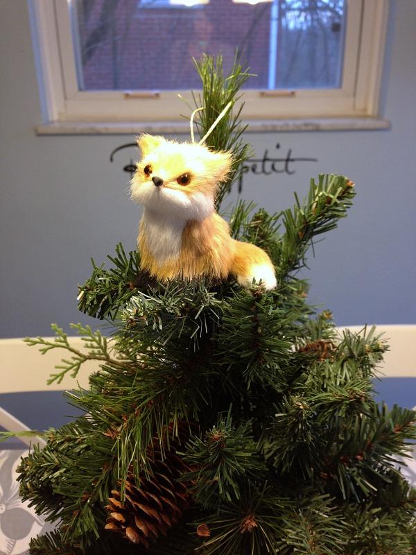 fox tree topper
