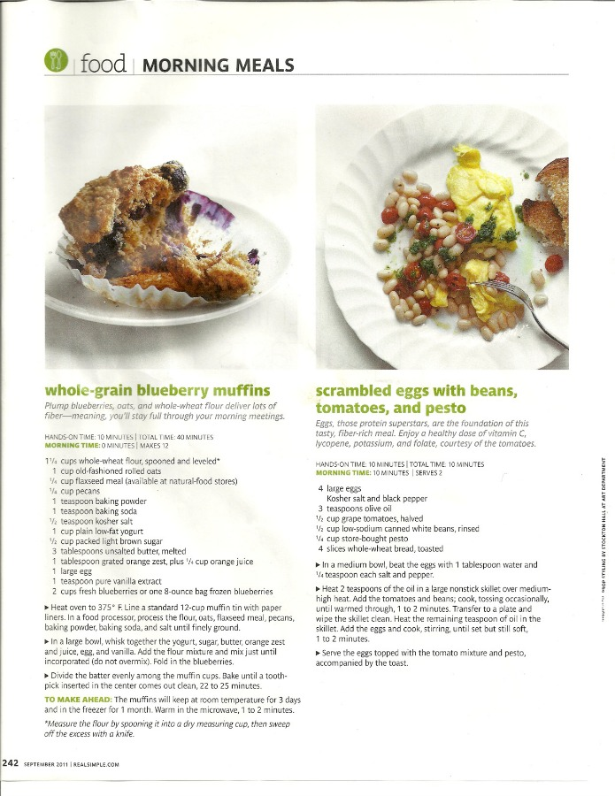 whole grain blueberry muffins recipe