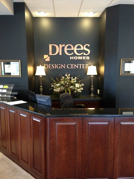 drees homes design center