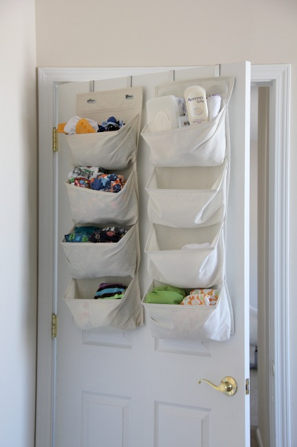 apartment cloth diaper storage