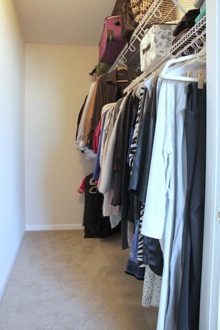 apartment master closet