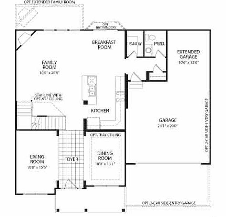 Drees Homes Floor Plans Indianapolis