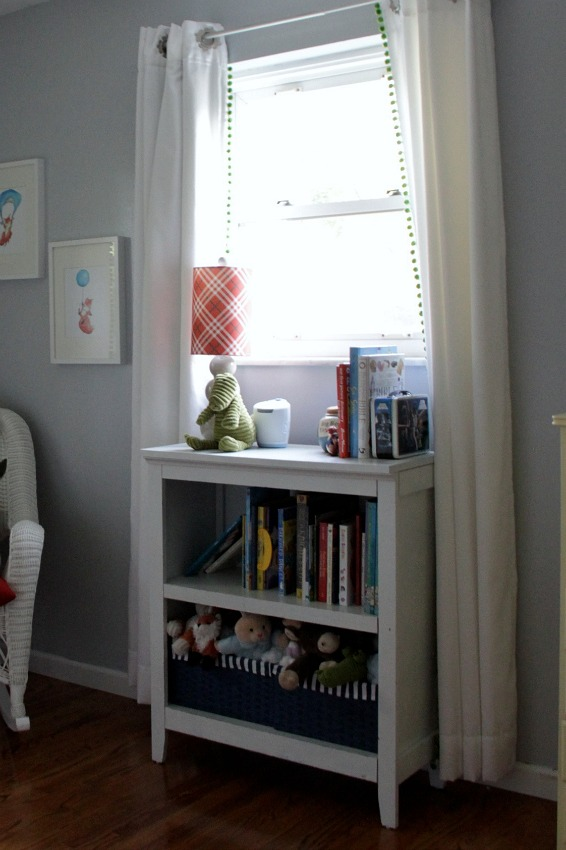 toddler nursery bookshelves