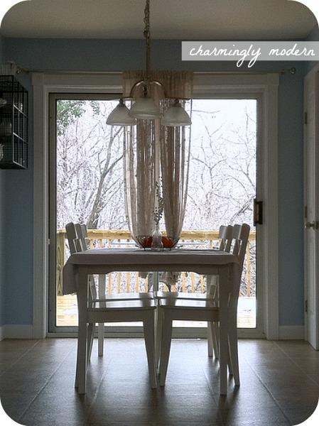 kitchen wintertime