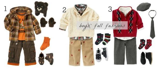 boys fall fashions gymboree