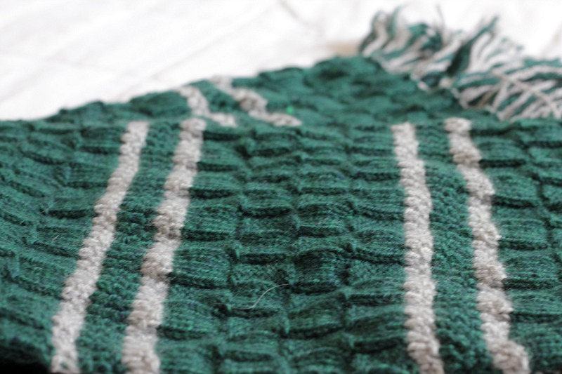 Knitting Pattern For Slytherin Scarf : A scarf for Slytherin - Charmingly Modern