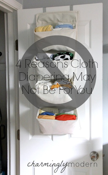 when cloth diapering doesn't work