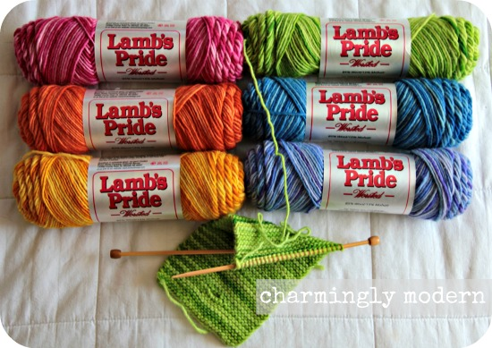 lambs pride worsted yarn