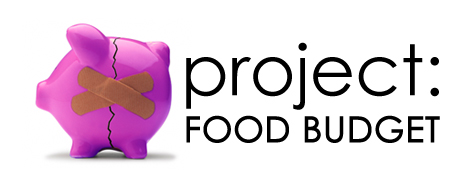 Project: Food Budget – Weeks 8 & 9