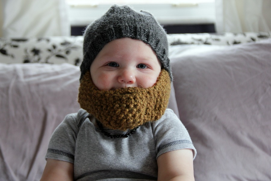 Babies Beards Charmingly Modern