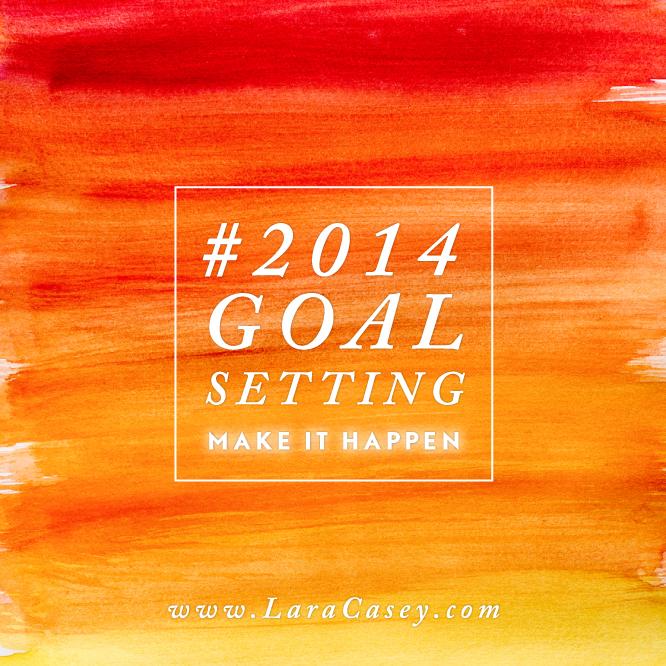 Making things happen in 2014