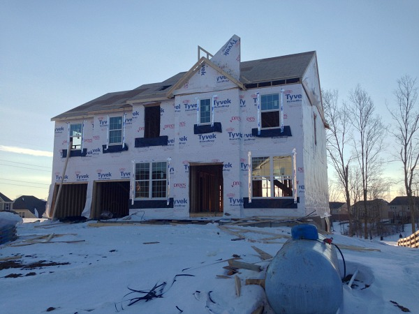 Drees Homes House Progress: Early February