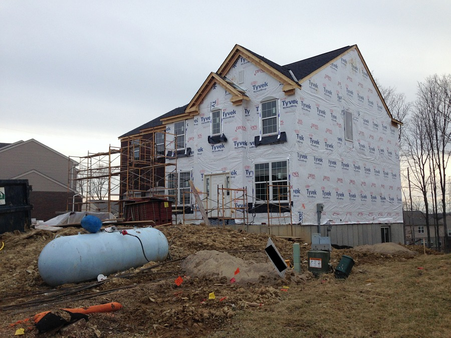 Drees Homes House Progress: Early March