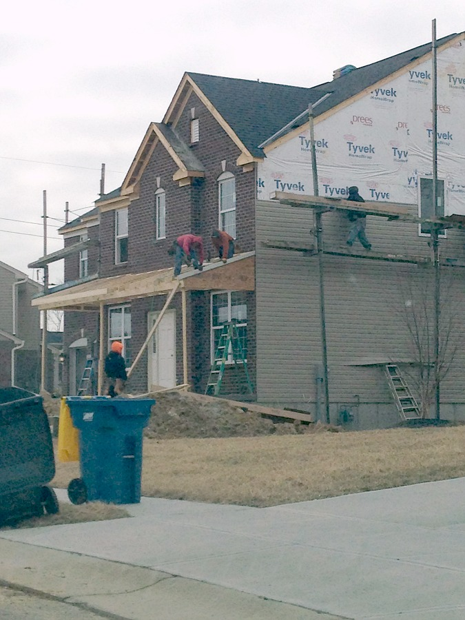 Drees Homes House Progress: Late March